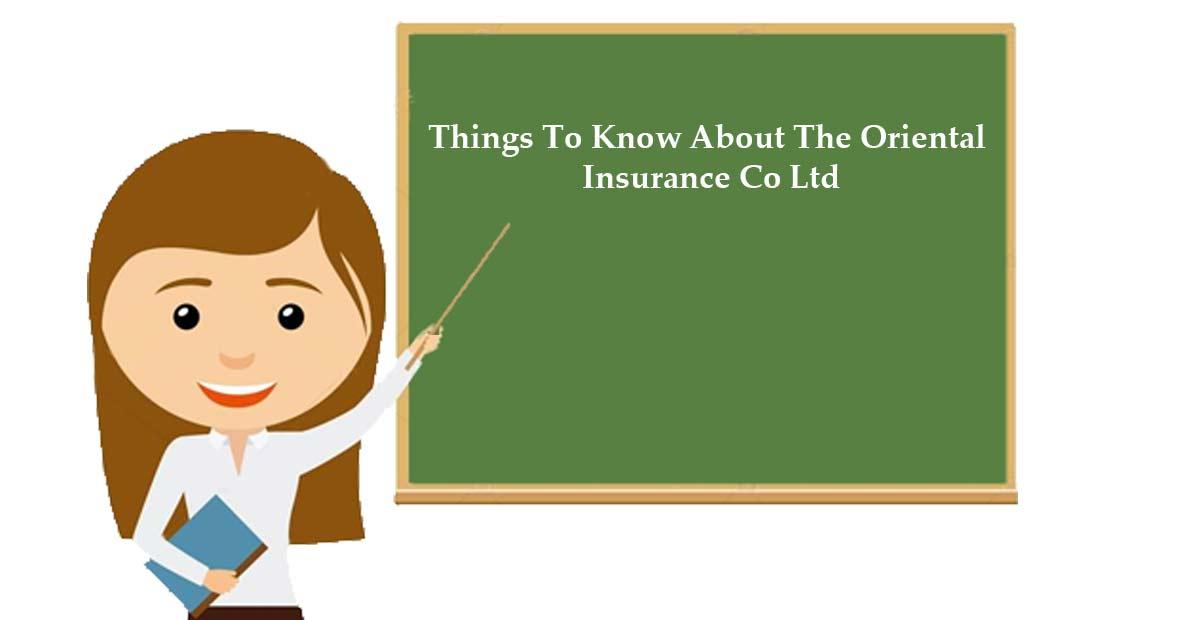 Oriental Insurance online
